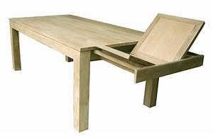Table Bois Metal Avec Rallonge : table avec rallonge table de salle manger extensible trendsetter ~ Melissatoandfro.com Idées de Décoration