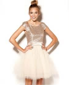 junior bridesmaid dresses macy s trixxi juniors dress cap sleeve sequin tulle juniors dresses macy 39 s trixxi dresses