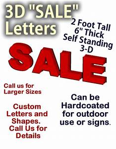 24 inch foam quotsalequot letters dino rentos studios inc With styrofoam letters for sale