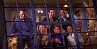 Friends Clapping Wall Gifs Going Chicago Giphy
