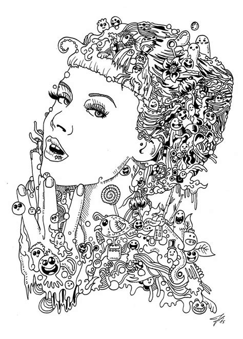 doodle coloring book 17 best images about doodles on coloring books