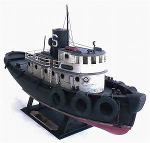 Lindberg Models 1  87 Scale Diesel Tugboat