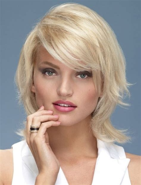 medium short hairstyles  faces hairstyle  women man