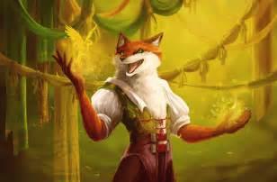 deviantART Magic Anime Foxes