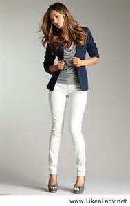 White Pants Business-Casual Women