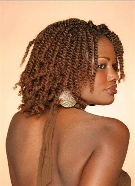 Twists Hairstyles For Black Women