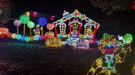 rock city enchanted lights rock city 39 s enchanted garden of lights 2016 youtube