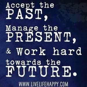 Past Present Fu... Vocational Service Quotes