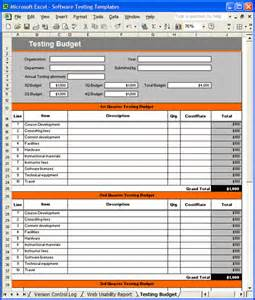 Test Template Excel 4 Free Excel Test Plan Template Bussines 2017
