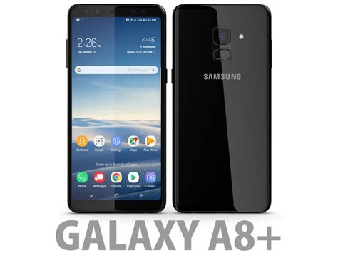 where to take furniture samsung galaxy a8 plus 2018 black 3d model cgtrader