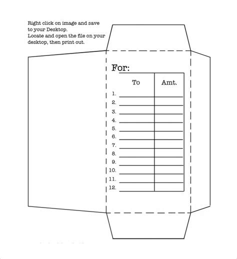 docs envelope template 8 money envelope templates sles exles format sle templates