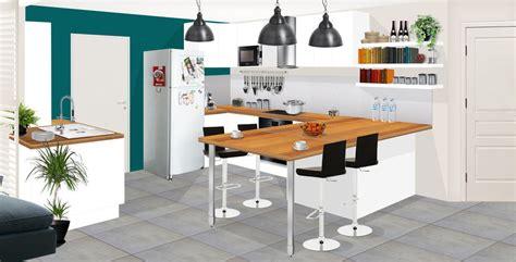 cuisine turquoise et gris cuisine bleu gris cuisine bleu marine contrastant avec un