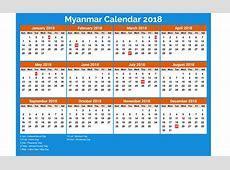Myanmar calendar 2018 5 newspicturesxyz