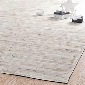 tapis arty blanc 200x300 maisons du monde With tapis shaggy avec maison du monde canapé cuir
