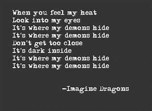 Demons Imagine Dragons Quotes. QuotesGram