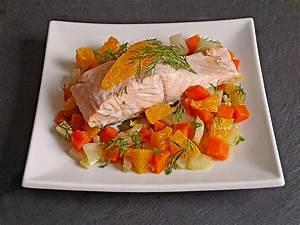 Welches Gemüse Zu Welcher Jahreszeit : sanft gegarter lachs auf m hren orangen fenchel gem se von die ankri01 ~ Whattoseeinmadrid.com Haus und Dekorationen