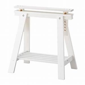 Bureau Architecte Ikea : finnvard tr teau avec tag re blanc ikea ~ Teatrodelosmanantiales.com Idées de Décoration