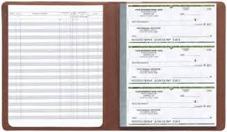 Business Check Register Full Page Printable