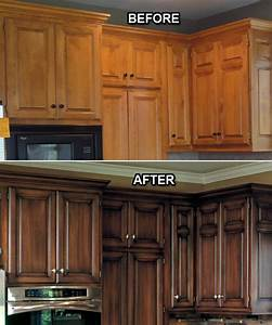 before after painting old kitchen cabinets modern kitchens With what kind of paint to use on kitchen cabinets for how to make professional stickers