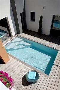 Mini Piscine Enterrée : caron piscines piscine enterr e en b ton mini piscine ~ Preciouscoupons.com Idées de Décoration