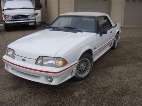 purchase   ford mustang fox body  ho gt