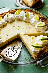 Key Lime Pie with Macadamia Nut Crust - Sallys Baking ...