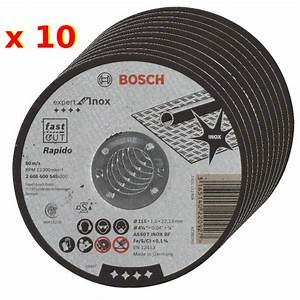 Disque A Tronconner : disque tron onner rapido longlife bosch 115mm meuleuse ~ Dallasstarsshop.com Idées de Décoration