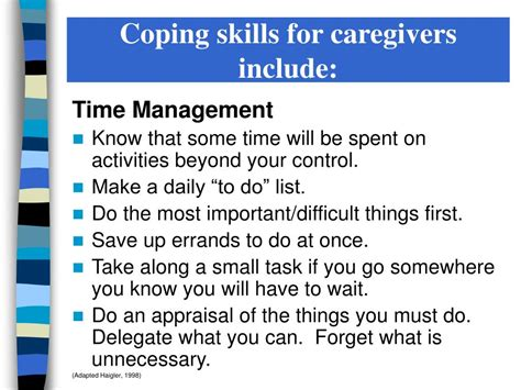 Ppt  Caregiver Stress & Coping Powerpoint Presentation