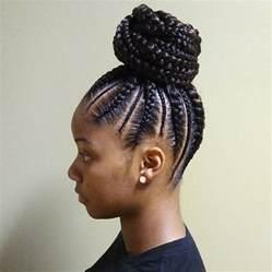 Cornrow Ponytail Hairstyle