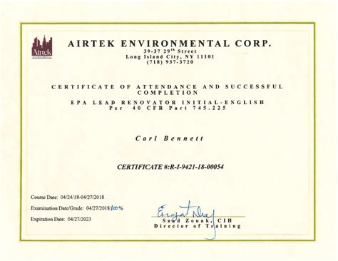 mold certifications licenses   uc
