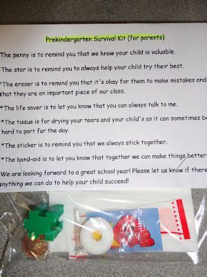 25 best ideas about kindergarten survival kit on 767 | 71201c5af8591e9707d47a90653dada8