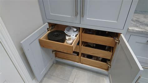 Kitchen Cupboard Drawers by Drawers In Pantry Cupboard By Celtica Kitchens