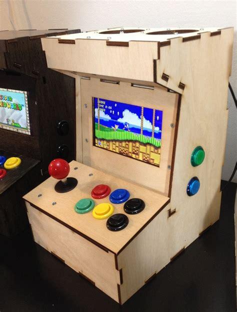Build Arcade Cabinet Raspberry Pi by Porta Pi Arcade A Diy Mini Arcade Cabinet For Raspberry