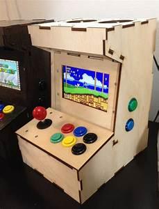 Porta Pi Arcade  A Diy Mini Arcade Cabinet For Raspberry Pi By Ryan Bates  U2014kickstarter
