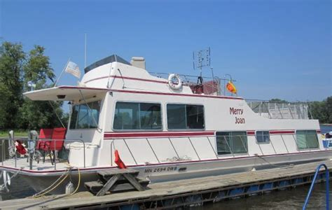 Boat Dealers Red Wing Mn by Used 1977 Harbor Master 48 House Boat Red Wing Mn