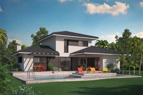 d 233 licieux modele facade maison moderne 4 maison villa florida couleur villas 188800 euros
