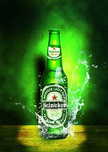 Heineken Poster Color Design Graphic Designer