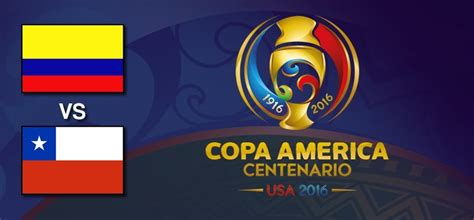— copa américa 2016 (@ca2016) june 23, 2016. Colombia vs Chile en Copa América Centenario 2016 ...