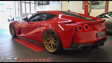 812 Superfast Modification by 812 Superfast Start Up Revs Accelerations
