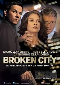 Broken City - Movie Poster #2 (Original) - Funrahi