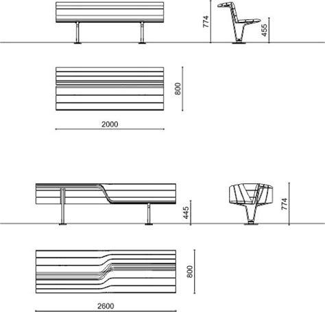 Panchine Pubbliche by Panchine Giardini Pubblici Sedis Sedis Torsion Metalco