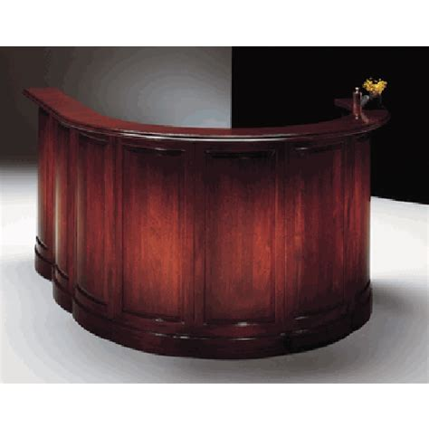 Traditional Reception Desk by Arnold Pembroke Traditional Reception Desk Station All