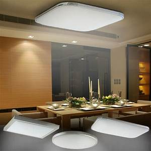 Deckenlampe Küche Led : led deckenleuchte deckenlampe 36 48 54w designleuchte wohnzimmer k che dimmbar ebay ~ Orissabook.com Haus und Dekorationen