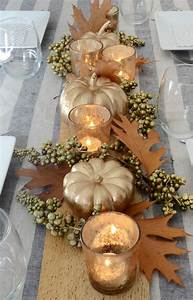Beautiful, Diy, Thanksgiving, Table, Centerpiece