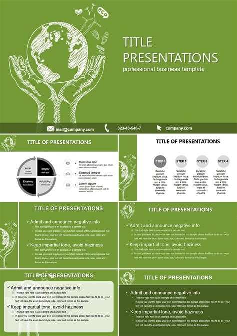 eco presentation templates eco information powerpoint templates free powerpoint