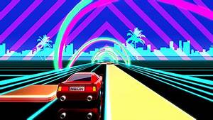 Neon Drive 80s Arcade Game a game by fraoula