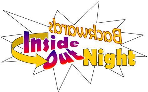 church website templates awana inside out backwards night
