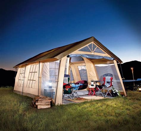 cabin tent with porch house shaped tent with a front porch fits 10
