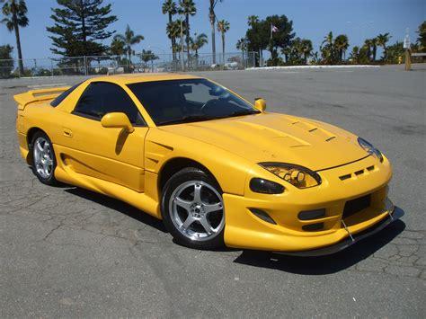 mitsubishi 3000gt yellow tazman65 1995 mitsubishi 3000gt specs photos