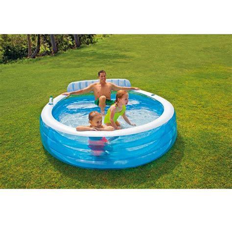 piscine gonflable avec siege piscine gonflable avec banc intex piscines pour enfants
